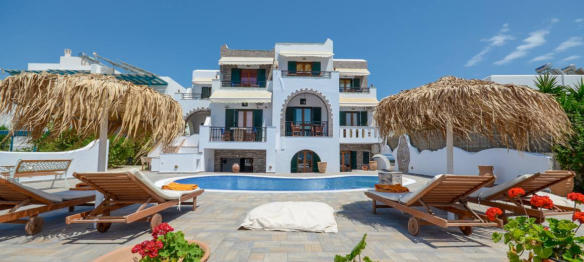 Studios Apartments in Naxos Island